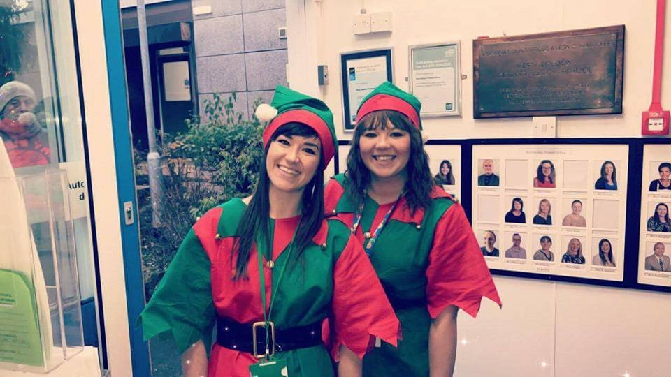 Our schools Elf Competition